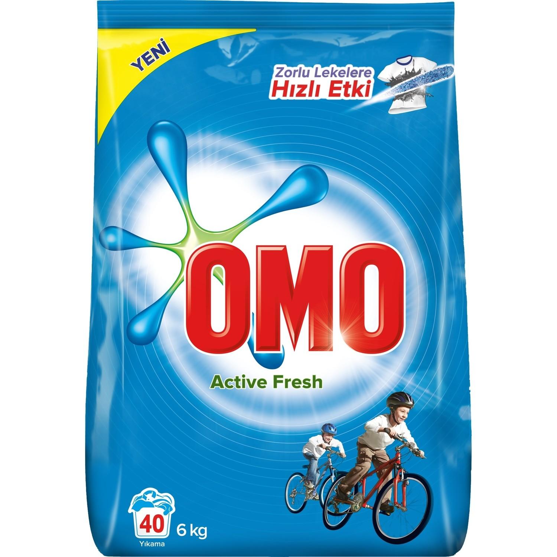 پودر ماشین لباسشویی 6 کیلو گرم OMO - پودر ماشین لباسشویی 6 کیلو گرم OMO