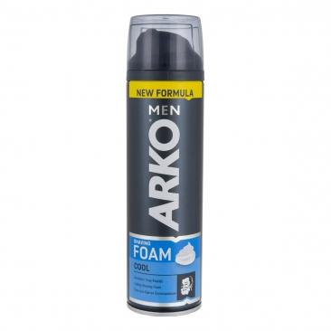 فوم اصلاح آرکو مدل Arko Shaving Foam Cool حجم 200 میلی لیتر - فوم اصلاح آرکو مدل Arko Shaving Foam Cool حجم 200 میلی لیتر