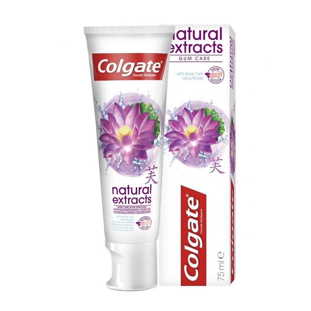 خمیردندان 75MIL کلگیت مدل Colgate Natural Extract - خمیردندان کلگیت مدل Colgate Natural Extract