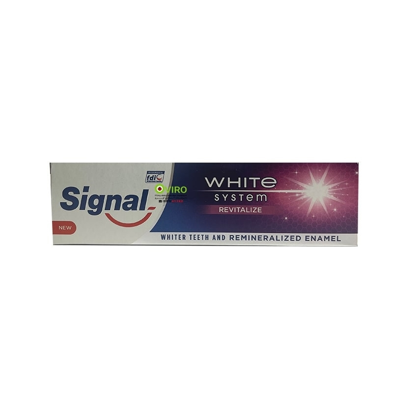 خمیردندان (REVITALIZE) وایت ترمیم کننده 75MIL  سیگنال - خمیردندان وایت ترمیم کننده 75MIL  سیگنال