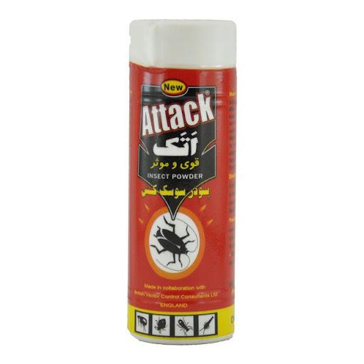 پودر سوسک کش 130 گرمی اتک (ATTACK) - پودر سوسک کش 130 گرمی اتک (ATTACK)