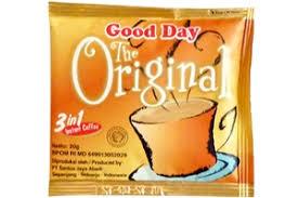 قهوه فوری مدل اورجینال 20 گرم Good Day - قهوه فوری مدل اورجینال 20 گرم Good Day