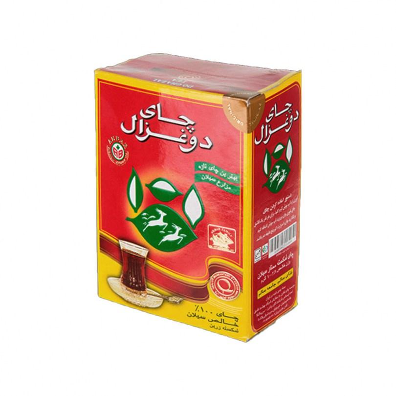 چای ساده 500g دو غزال - چای ساده 500g دو غزال