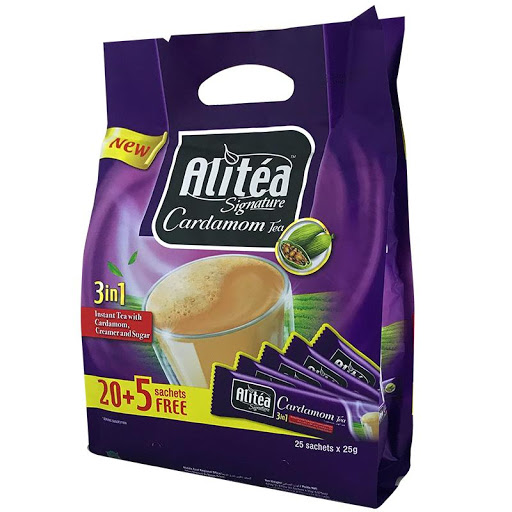 بسته 25 عددی شیر چای هل علی تی Alitea - بسته 25 عددی شیر چای هل علی تی Alitea