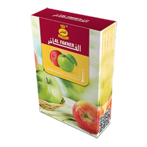معسل دو سیب 50 گرم الفاخر - معسل دو سیب 50 گرم الفاخر