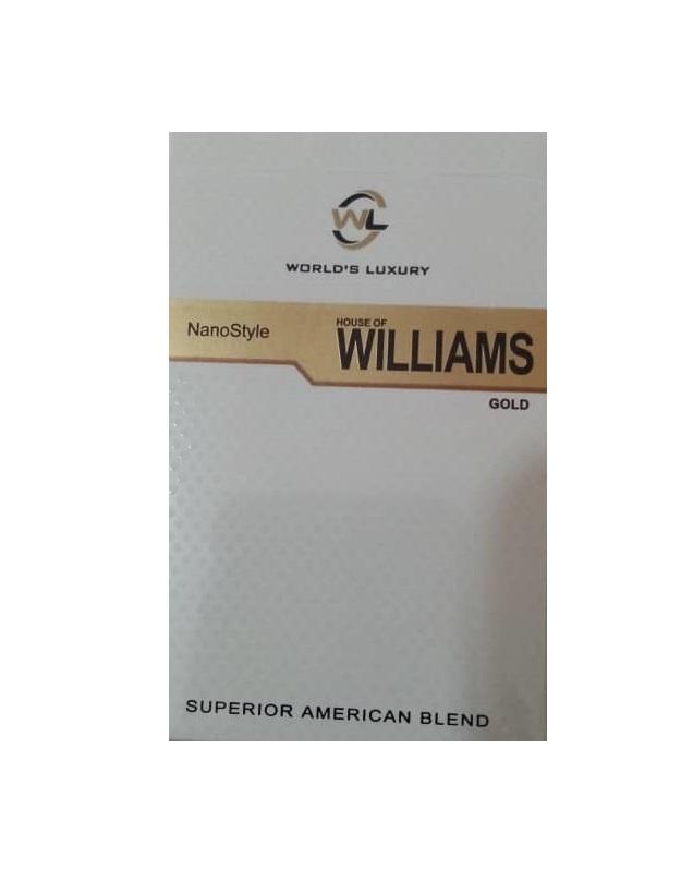 سیگار ویلیامز گلد WILLIAMS - سیگار ویلیامز گلد WILLIAMS