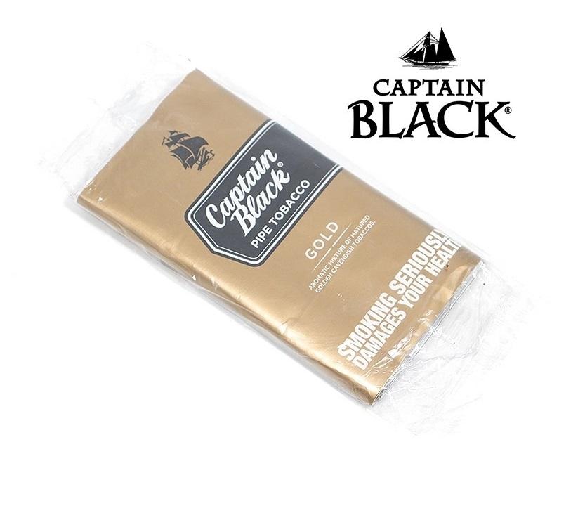 کاپیتان بلک توتون پیپ گلد Captain Black Gold - کاپیتان بلک توتون پیپ گلد Captain Black Gold