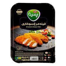 فیله مرغ سوخاری پمینا کاله ۴۰۰ گرمی - فیله مرغ سوخاری پمینا کاله ۴۰۰ گرمی