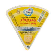 پنیر چدار  100 گرم مثلثی آلیما - پنیر چدار  100 گرم مثلثی آلیما