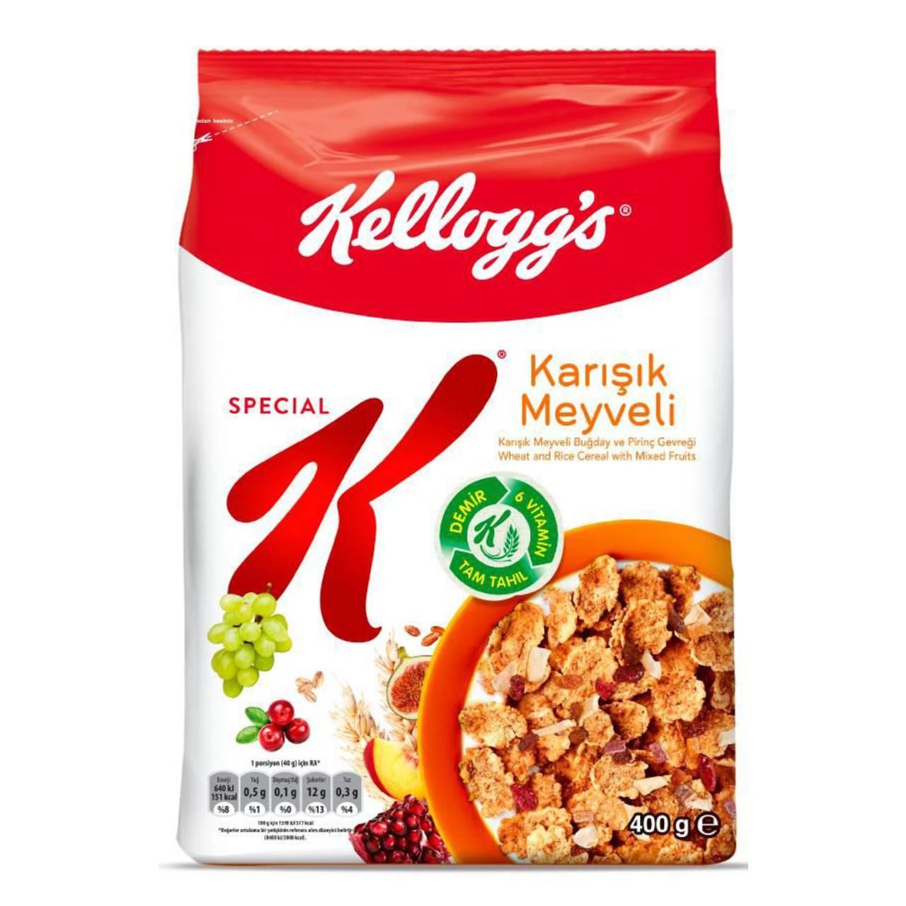 کورن فلکس مخلوط میوه اسپشیال کلاگز (Kelloggs Special ) SPECIAL K - کورن فلکس مخلوط میوه اسپشیال کلاگز (Kelloggs Special ) SPECIAL K