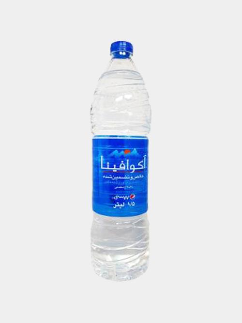 آب آشامیدنی بااملاح معدنی 1/5لیتری آکوافینا 1 عددی - آب آشامیدنی بااملاح معدنی 1/5لیتری آکوافینا 1 عددی
