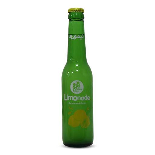 نوشیدنی لیموناد شیشه ای 280Cc زمزم - نوشیدنی لیموناد شیشه ای 280Cc زمزم