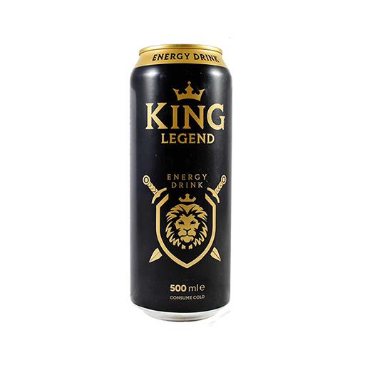 نوشابه انرژی زا 500 میل KING - نوشابه انرژی زا 500 میل KING