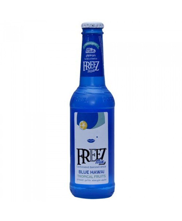 آبمیوه گازدار 275 میل BLUE HAWAI فریز FREEZ - آبمیوه گازدار 275 میل BLUE HAWAI فریز FREEZ