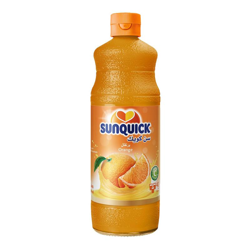 شربت پرتقال 840mil سن کویک SUNQUICK - شربت پرتقال 840mil سن کویک SUNQUICK