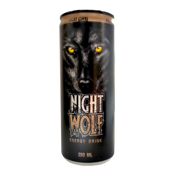 نوشابه انرژی زا 250 میلی لیتری نایت ولف NIGHT WOLF - نوشابه انرژی زا 250 میلی لیتری نایت ولف NIGHT WOLF