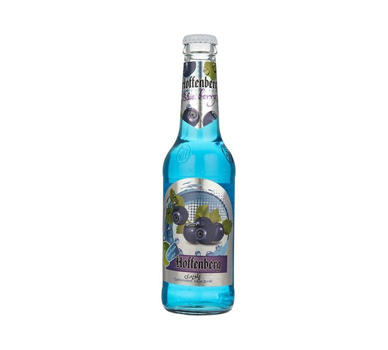 آب میوه گازدار شیشه بلوبری هوفنبرگ - آب میوه گازدار شیشه بلوبری هوفنبرگ
