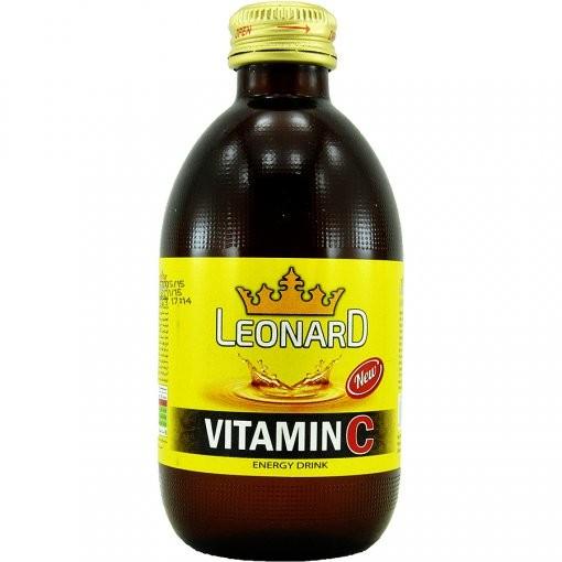 نوشیدنی گازدار ویتامین C انرژی زا 240MIL لئونارد (LEONARD) - نوشیدنی گازدار ویتامین C انرژی زا 240MIL لئونارد (LEONARD)
