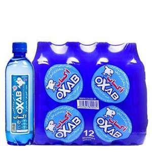آب غنی شده با اکسیژن اکساب - 0.5 لیتری شل 12 عددی OXAB - آب غنی شده با اکسیژن اکساب - 0.5 لیتری شل 12 عددی OXAB