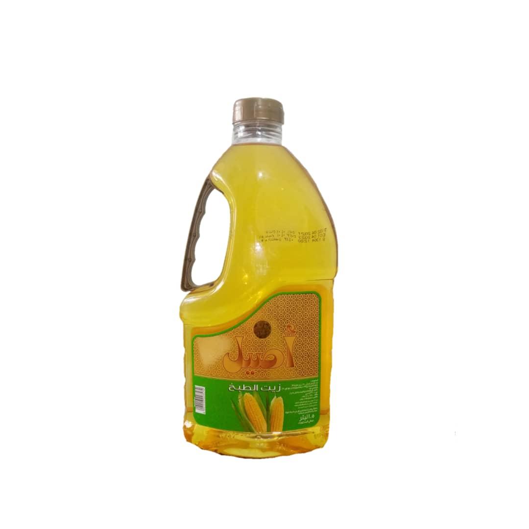 روغن مایع ذرت 1/8 لیتر اصیل - روغن مایع ذرت 1/8 لیتر اصیل
