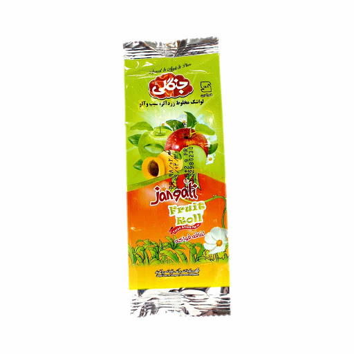 لواشک مخلوط میوه ای 12g جنگلی - لواشک مخلوط میوه ای 12 گرم جنگلی