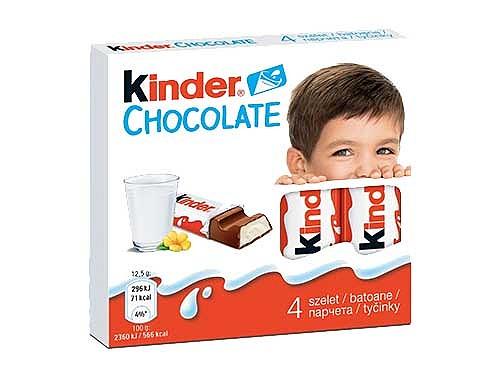 شکلات 50 گرمی کیندر kinder - شکلات 50 گرمی کیندر kinder