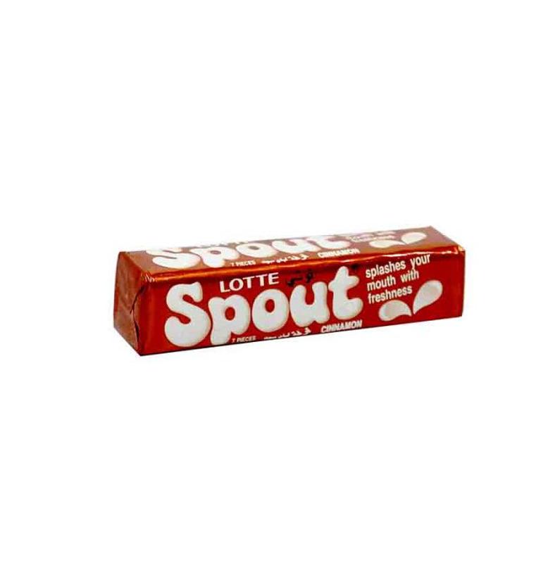 آدامس دارچینی عسلی اسپوت (Spout) مقدار 23 گرم - آدامس دارچینی عسلی اسپوت (Spout) مقدار 23 گرم