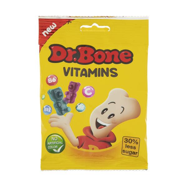 پاستیل غنی شده با ویتامین ب و ث  دکتر بن DR.Bone - پاستیل غنی شده با ویتامین ب و ث  دکتر بن DR.Bone