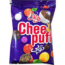 چی پف توپی کوچک با روکش شکلات 25 گرمی چی توز - چی پف توپی کوچک با روکش شکلات 25 گرمی چی توز