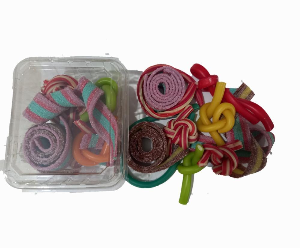 پاستیل فله نواری  با طعم های مختلف  200 گرم ایران زمین - پاستیل فله نواری  با طعم های مختلف  200 گرم ایران زمین