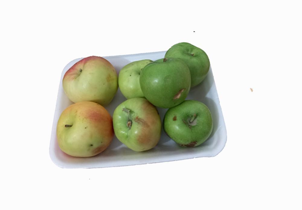سیب ترکیبی  لبنانی و سیب سبز درجه دو  870 گرم ایران زمین - سیب ترکیبی  لبنانی و سیب سبز درجه دو  870 گرم ایران زمین